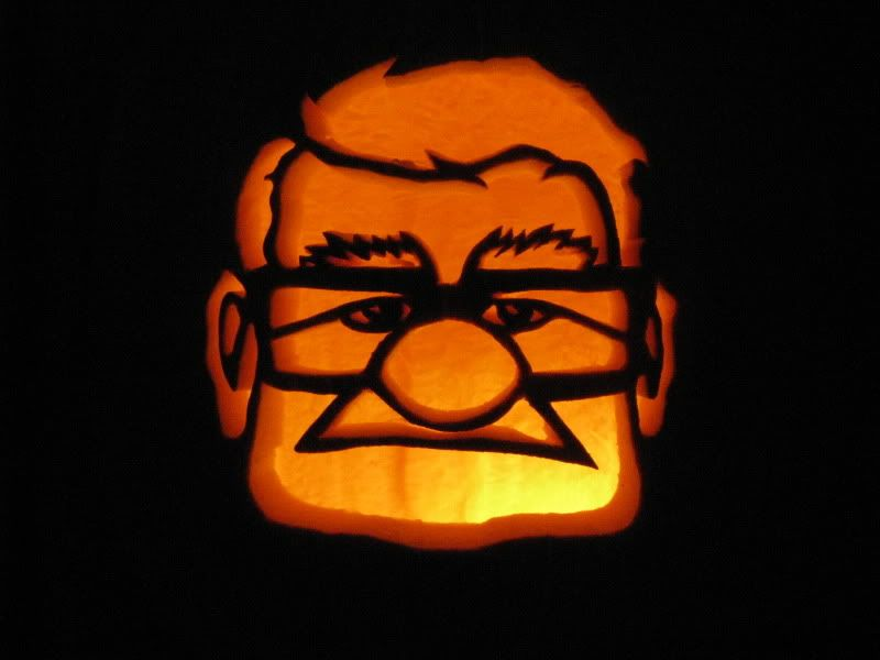 Carl Fredricksen Pumpkin Photo: This Photo was uploaded by ...