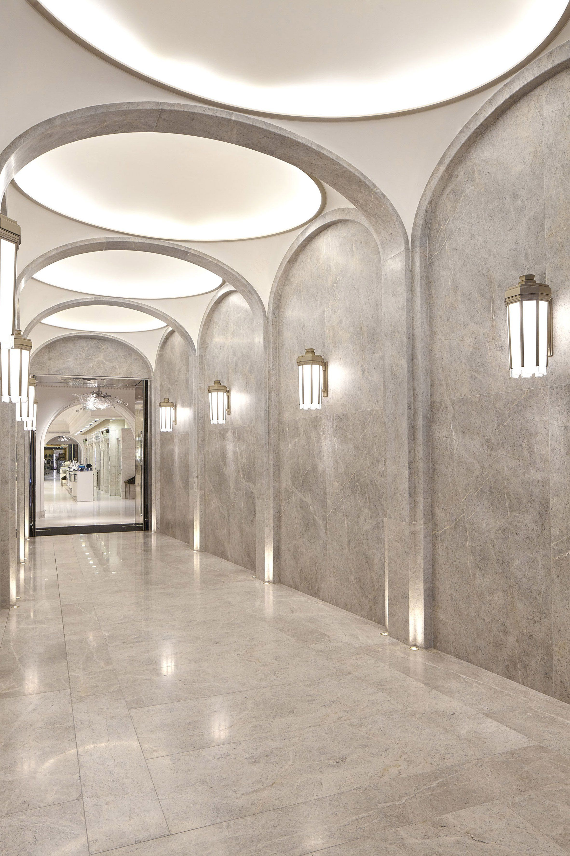 Make upgrades entrance hall of London\'s Harrods with bronze ...