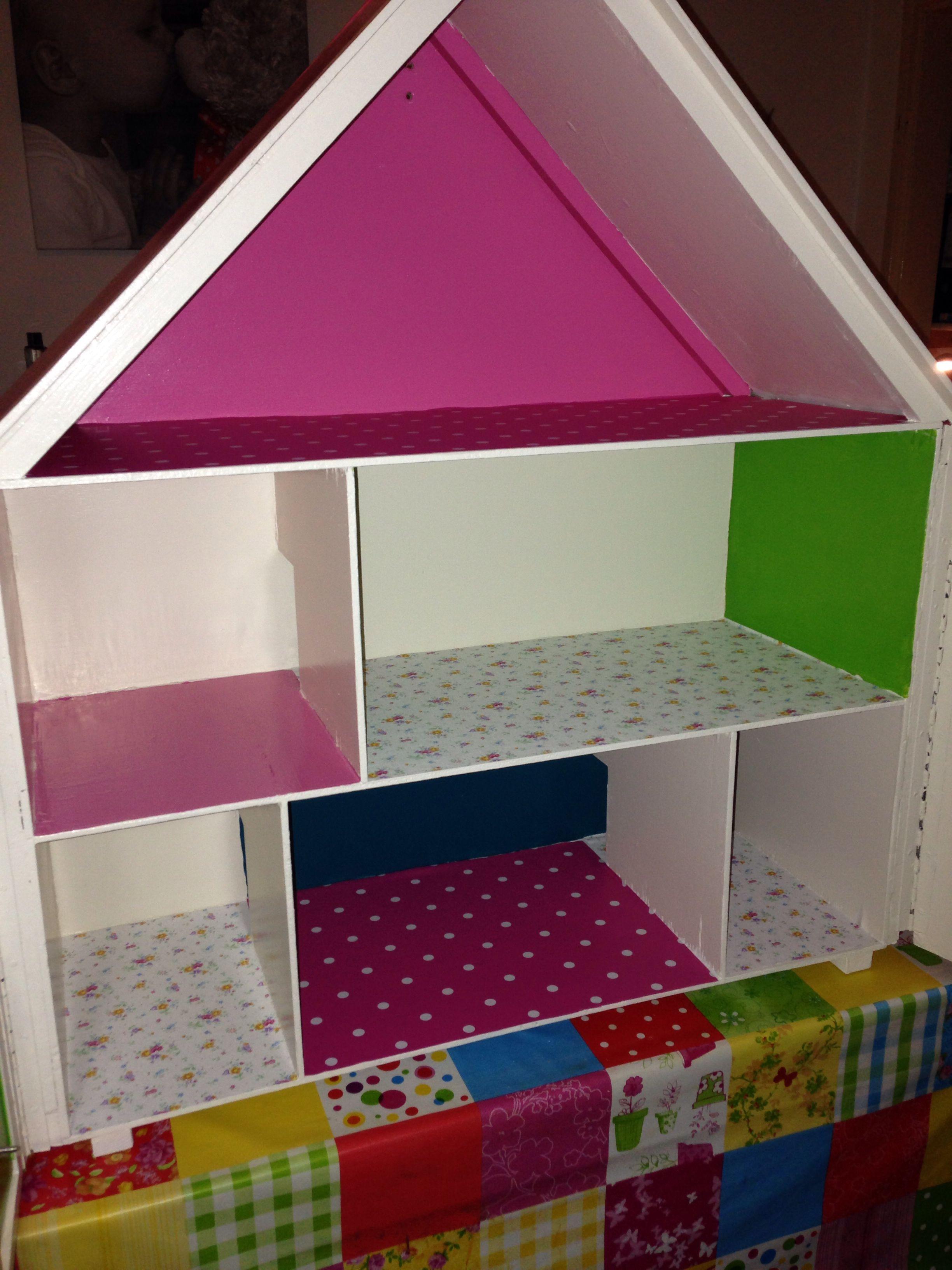 Poppenhuis creatief pinterest speelgoed creatief en for Poppenhuis voor barbie