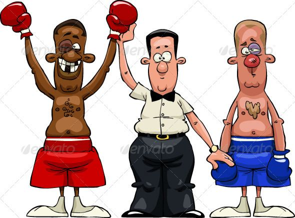 VECTOR DOWNLOAD (.ai, .psd) :: http://sourcecodes.pro/pinterest-itmid-1002012331i.html ... Boxers ...  Pugilist, battle, boxer, cartoon, character, fight, fun, isolated, judge, loser, men, referee, sport, vector, winner  ... Vectors Graphics Design Illustration Isolated Vector Templates Textures Stock Business Realistic eCommerce Wordpress Infographics Element Print Webdesign ... DOWNLOAD :: http://sourcecodes.pro/pinterest-itmid-1002012331i.html