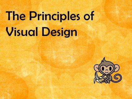 Principles of Visual Design  by Diane Tchakirides Design, via Slideshare