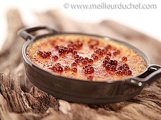 Crème brûlée à la truffe