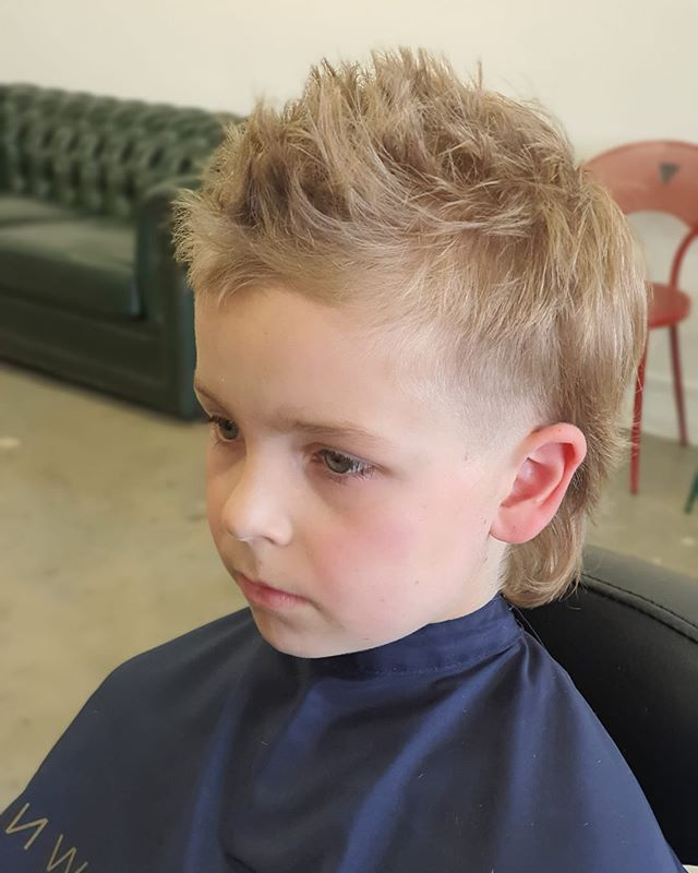 20+ Boy mullet ideas