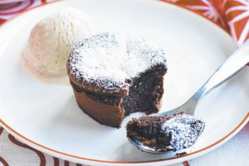 Chocolate cardomom pudding - so yum!  @taste.com.au