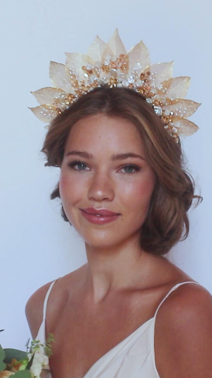 Bohemian Fairytale Bridal Crown Hair Accessories