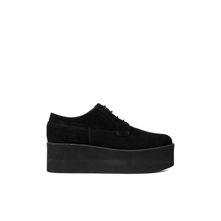 Zapatos Paso Mas Zapato Plataforma Ante Un Shoes BcnLoca Por qj35RA4L
