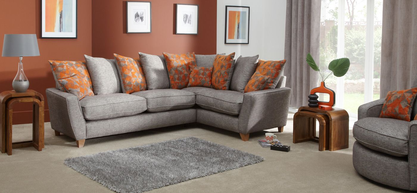 Ikea Sofa Bed Lily Scatter Back Corner Arm Group Right Hand Facing ScS