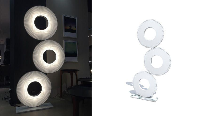lampadaire cactus by fabrice berrux pour roche bobois luminaires pinterest. Black Bedroom Furniture Sets. Home Design Ideas