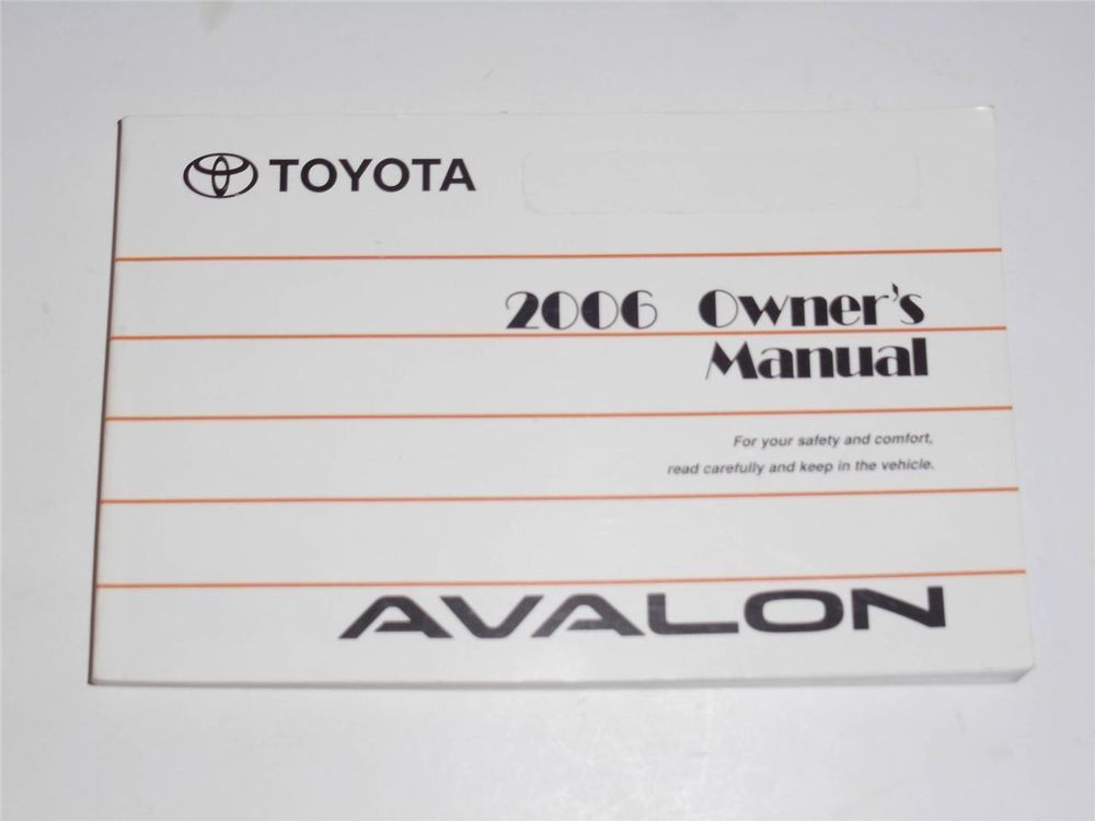 2006 toyota avalon owners manual book owners manuals pinterest rh pinterest com 2006 toyota avalon owners manual pdf 2006 toyota avalon owners manual download