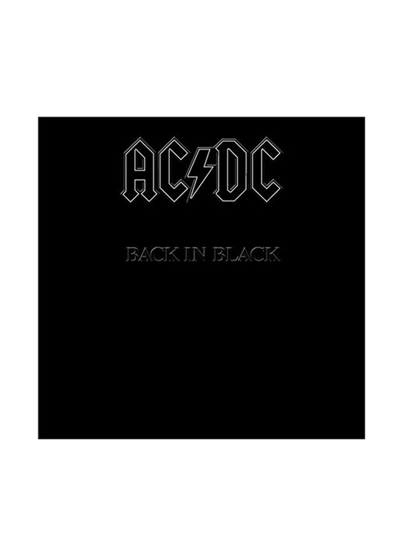 Ac Dc Back In Black Vinyl Lp Hot Topic Vinyl Records Back