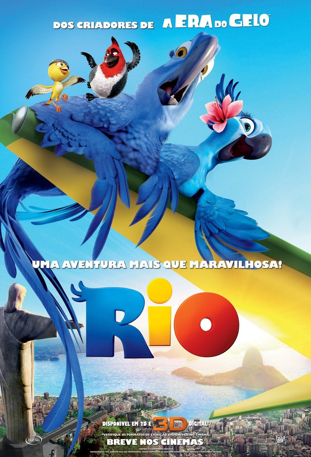 Rio Dirigido Por Carlos Saldanha Rio Movie Adventure Movies Animated Movies