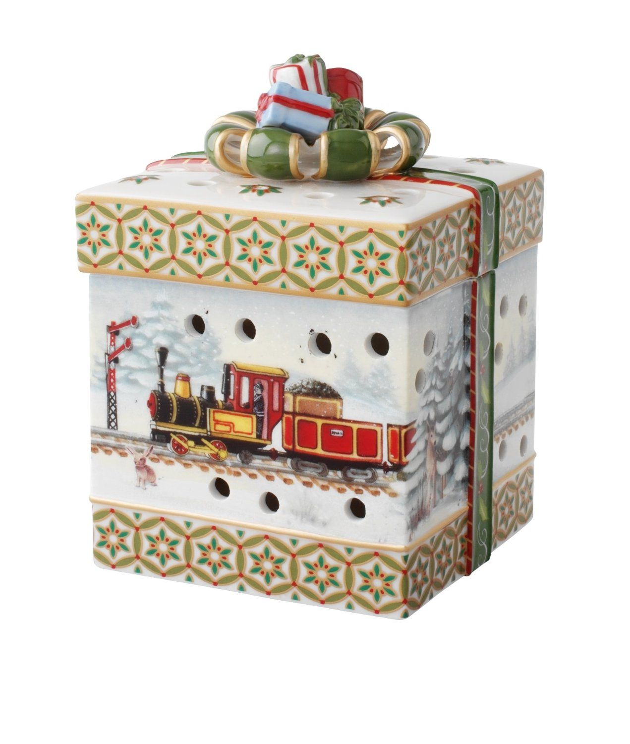 Amazon Small Decorative Boxes: Villeroy & Boch Christmas Toys Small Square