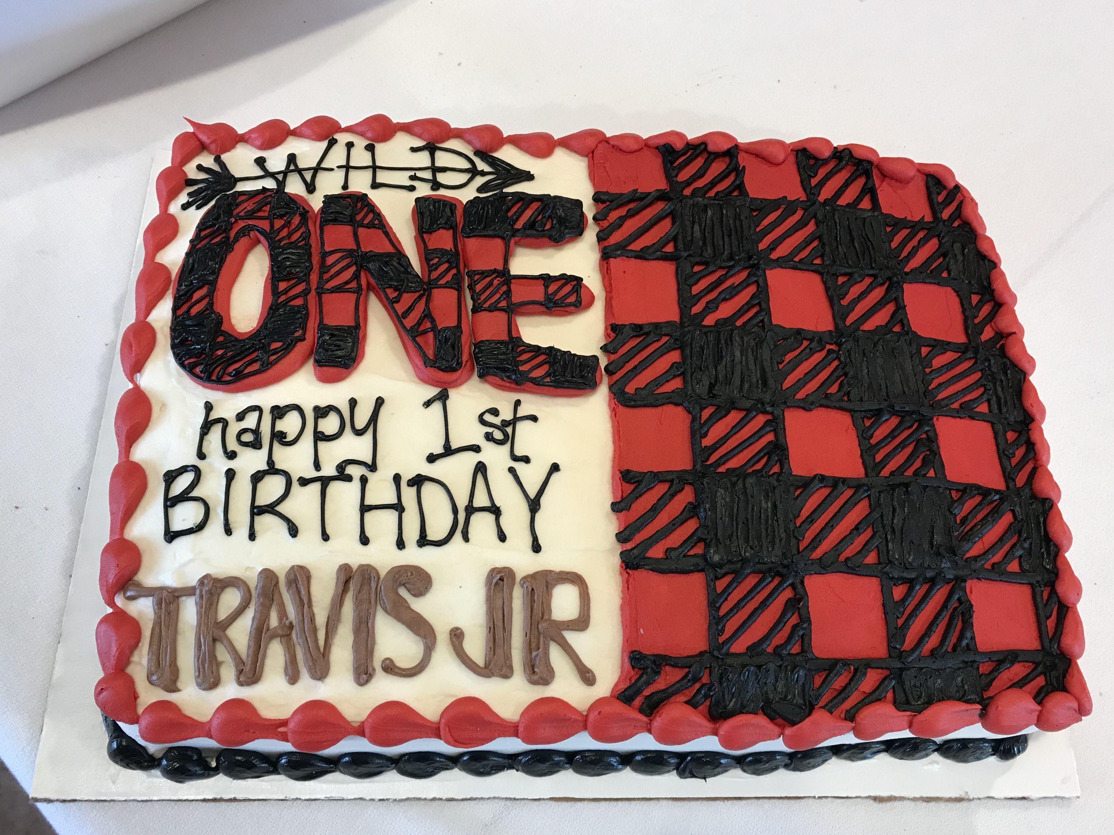 Buffalo Plaid Birthday Cake Plaid Cake Sweet Dreams Bakery Birthday Sheet Cakes
