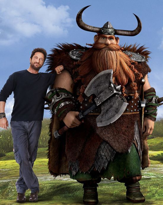 Gerard Butler With Stoick The Vast How Train Your Dragon Gerard Butler How To Train Your Dragon