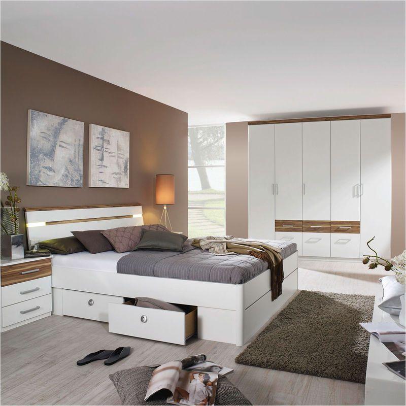 Lit Adulte Auchan, achat Lit 140 x 200 cm PALERME + Armoire portes - schlafzimmer sofort lieferbar