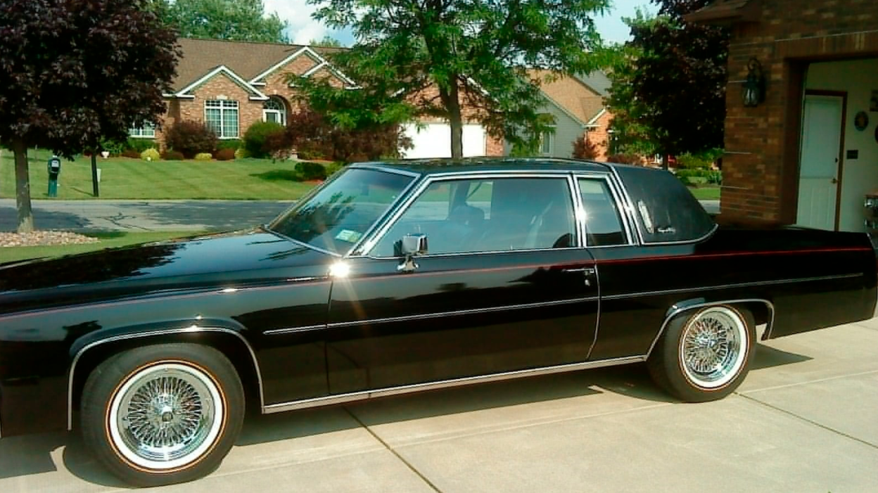1980 Cadillac Coupe Deville On Vogue Tyres