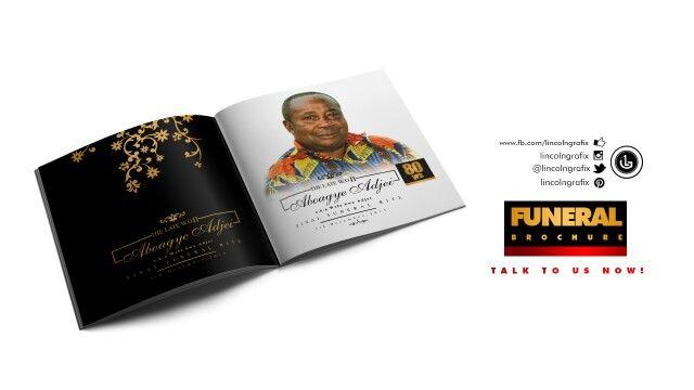 Funeral brochure design books magazine Pinterest Brochures