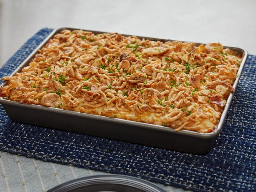 French Onion Baked Mac and Cheese #macandcheeserecipe