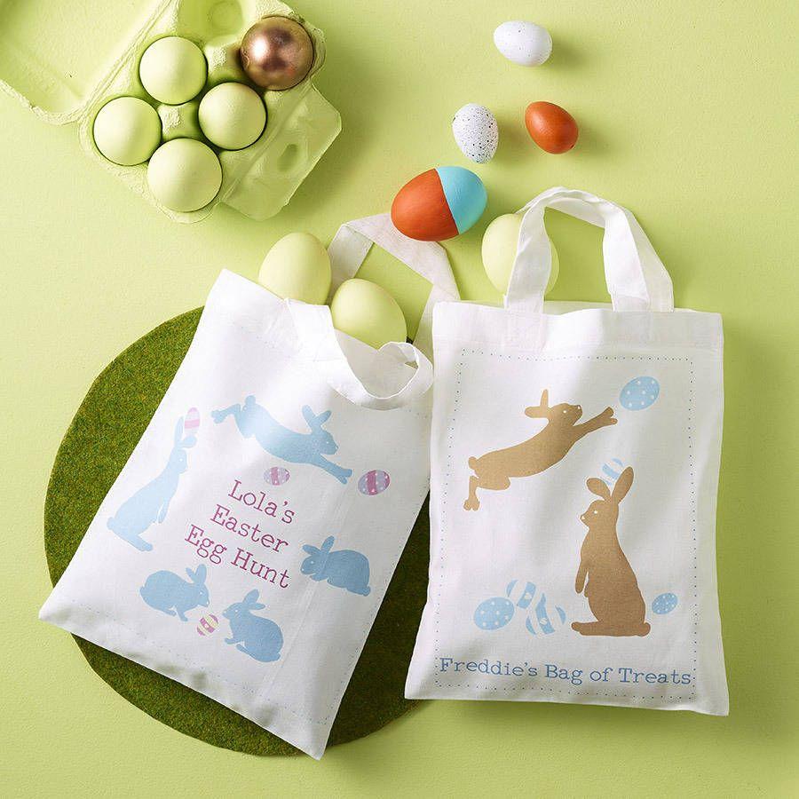 Personalised easter egg hunt bag easter egg and bag personalised easter egg hunt bag negle Choice Image