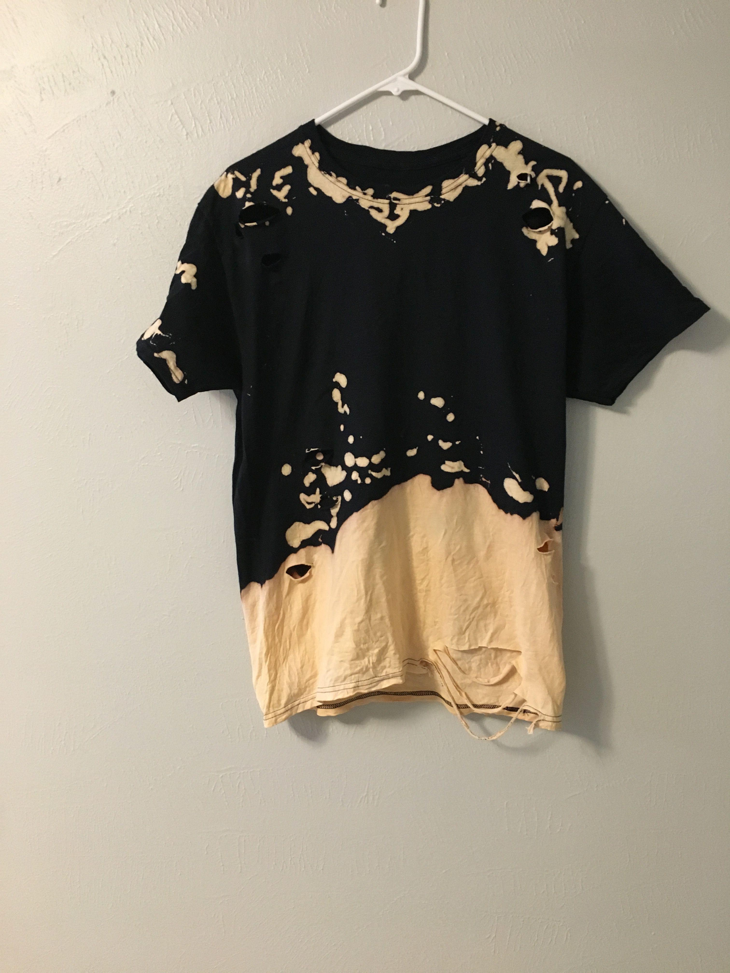 Bleach Shirt Bleach Shirt Diy Bleach Shirts Bleach T Shirts