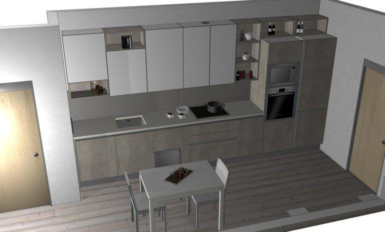 progettazione Veneta Cucine modello start time go | Cucine ...