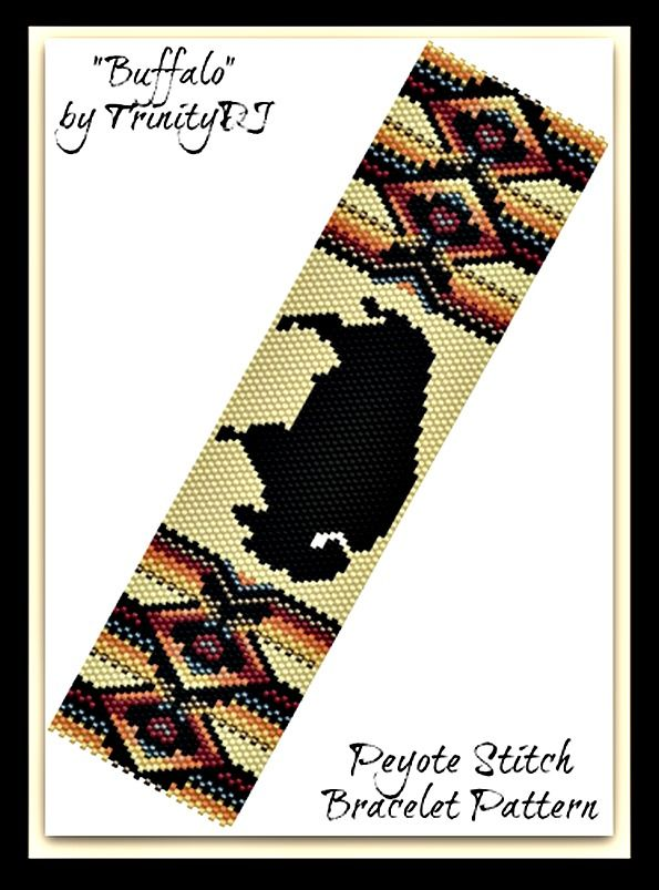 Buffalo Bracelet Pattern | Bead-Patterns.com | design ideas ...