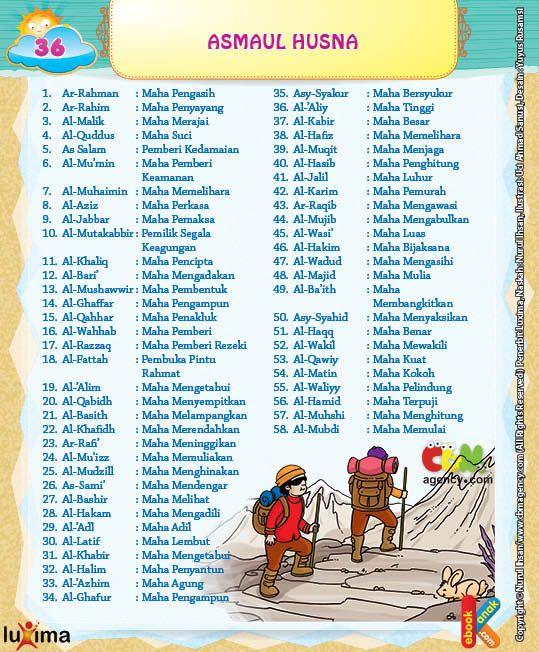 Asmaul husna arti pdf reader