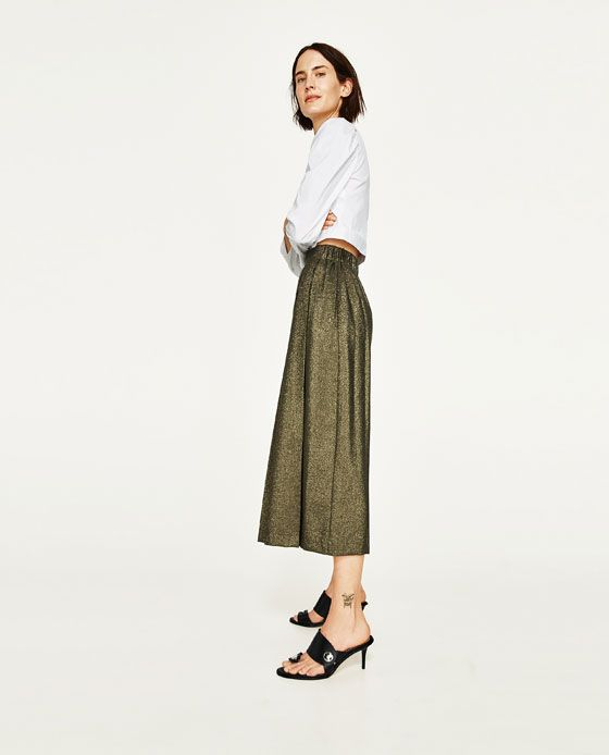 0fc77581bdaf23 Image 3 de JUPE-CULOTTE de Zara | WOMEN en 2019 | Jupe culotte ...