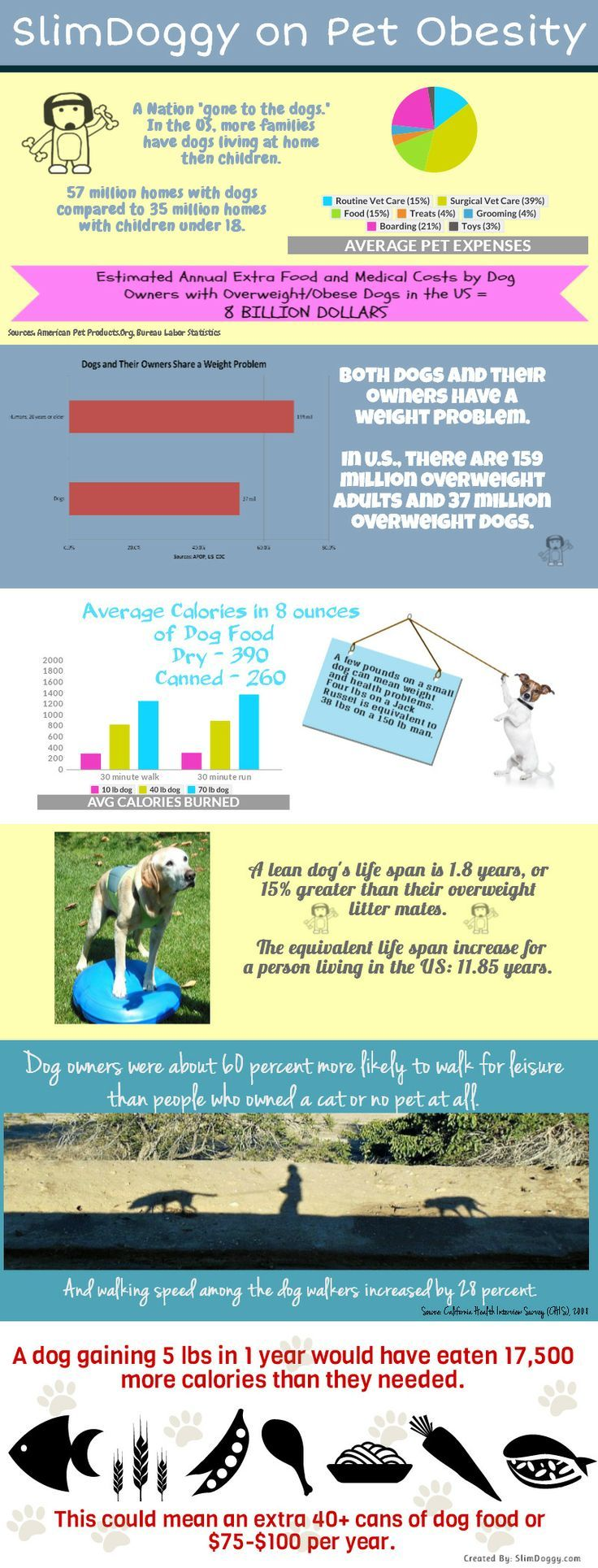 Pet Obesity Facts from Slimdoggy