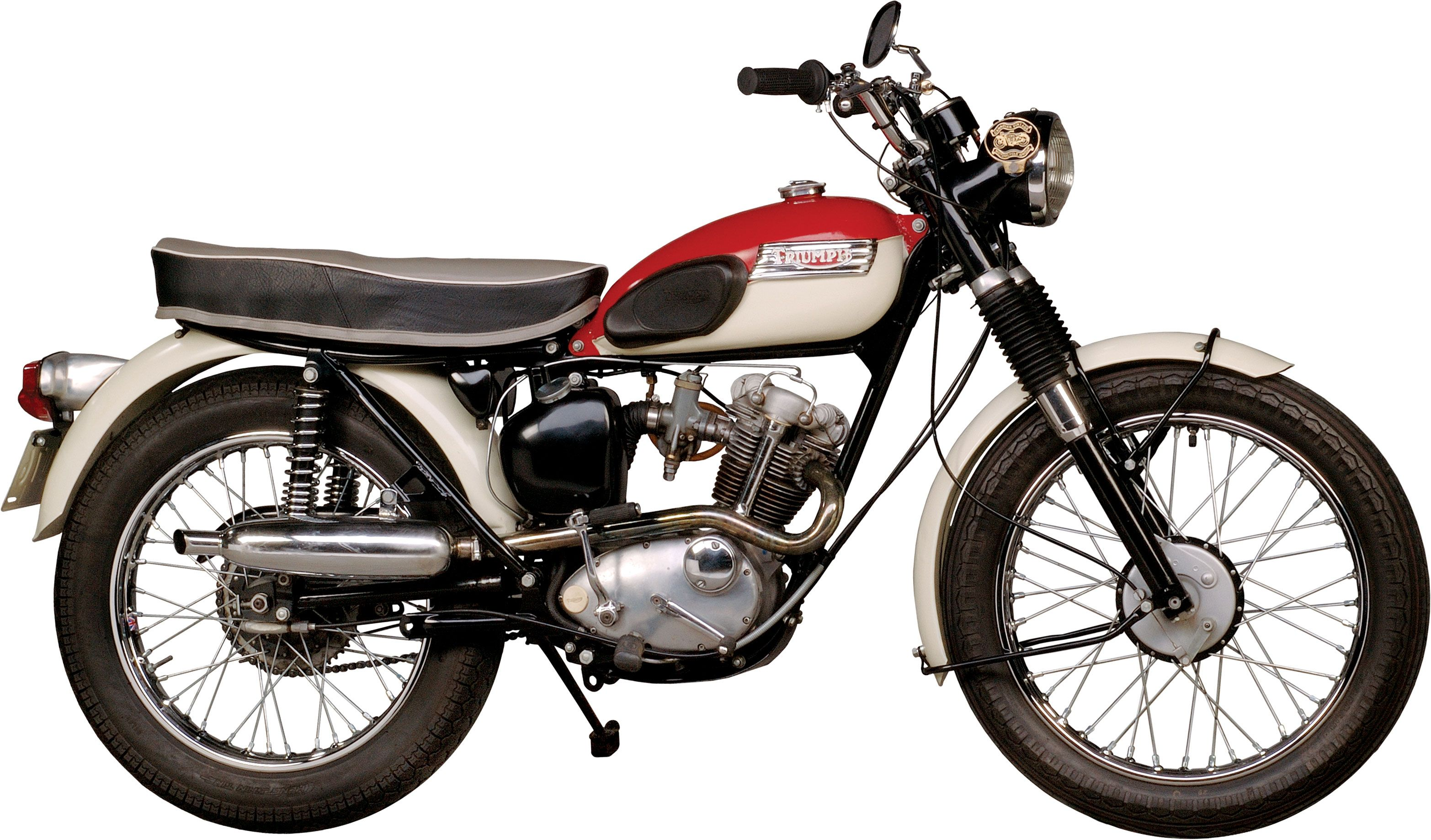 1952-1969 triumph tiger cub: the baby bonnie - classic british