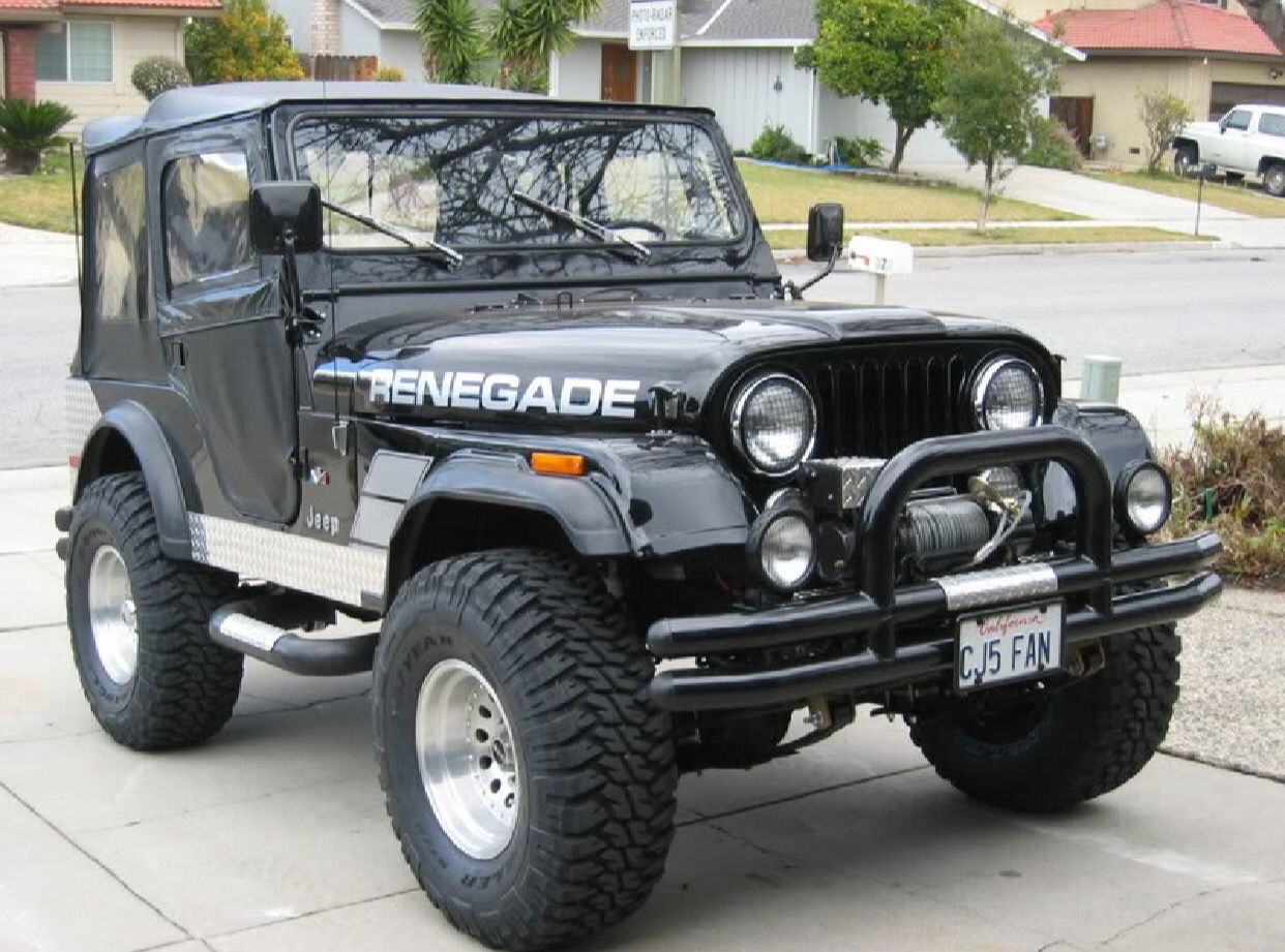 Renegade Jeep cj5, Jeep, Jeep cj