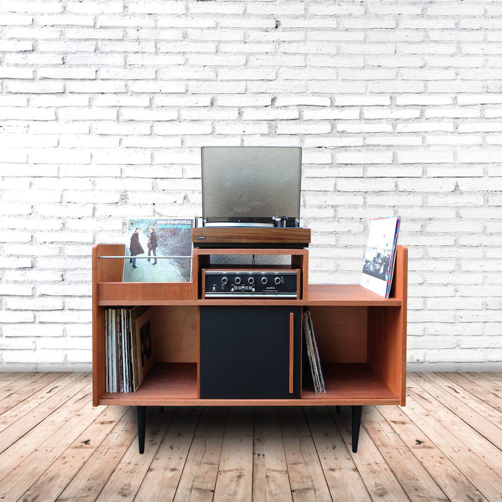 r sultat de recherche d 39 images pour meuble platine vinyle. Black Bedroom Furniture Sets. Home Design Ideas