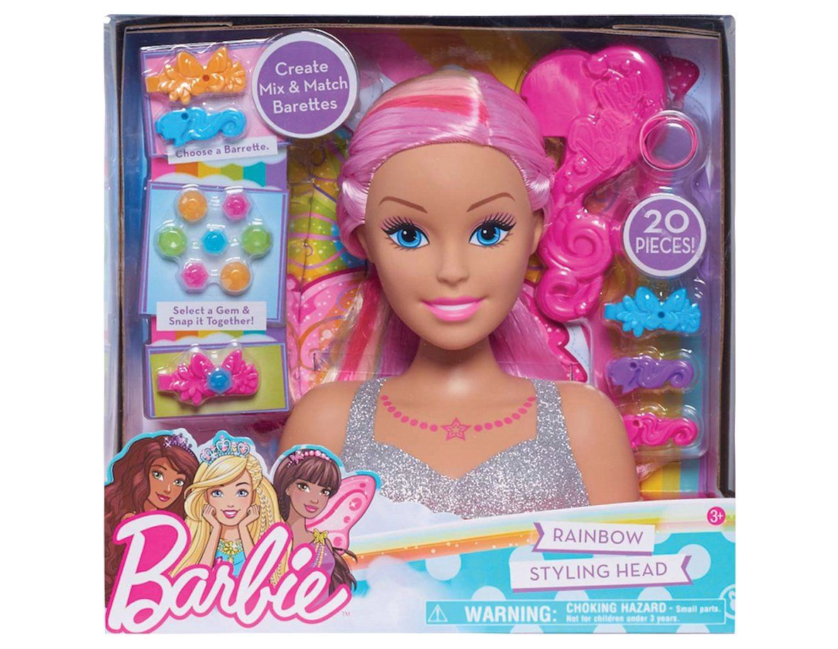 Barbie Dreamtopia Rainbow Styling Kopf Barbie