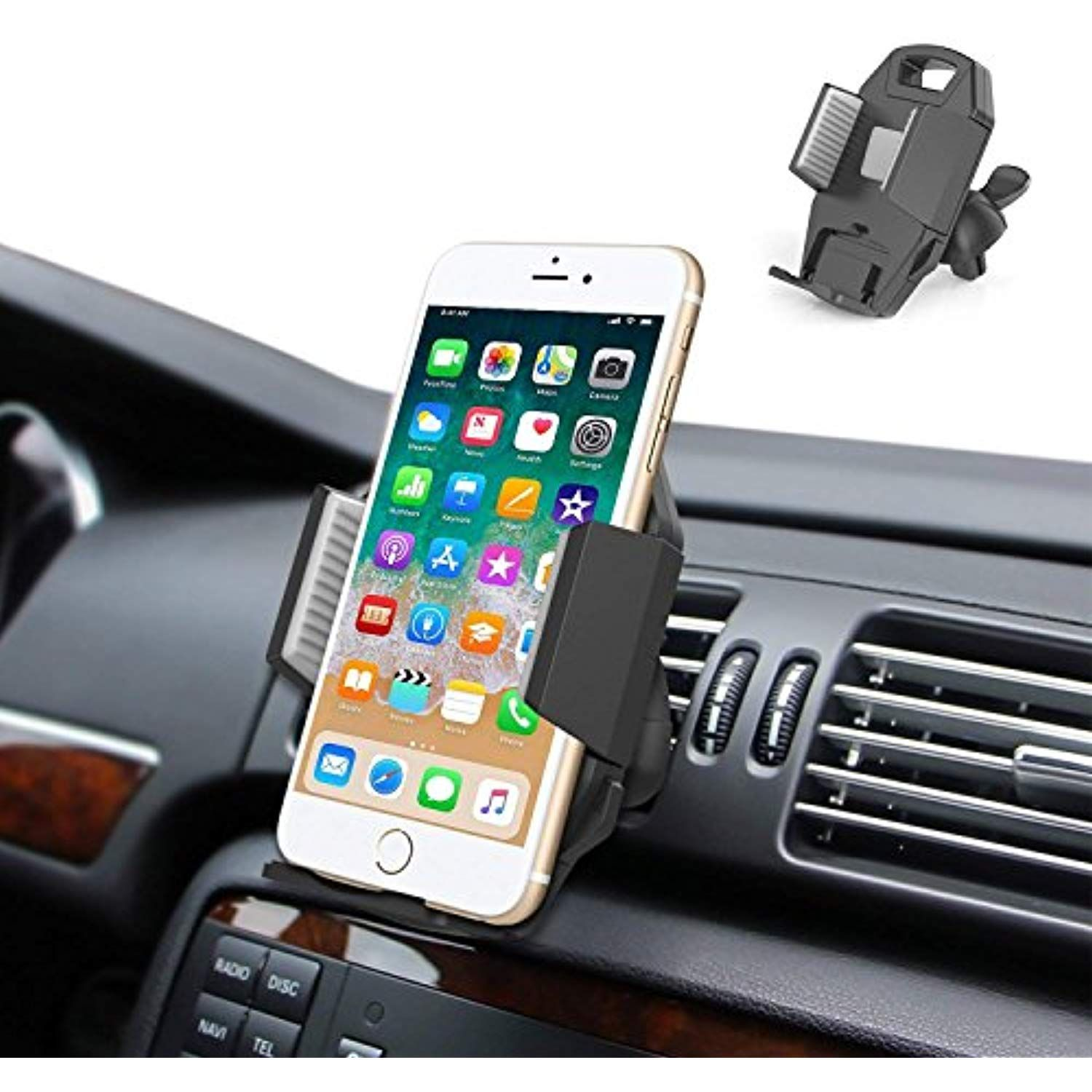 Car Cell Phone Holder Mount, ilikable Upgrade Air Vent Car