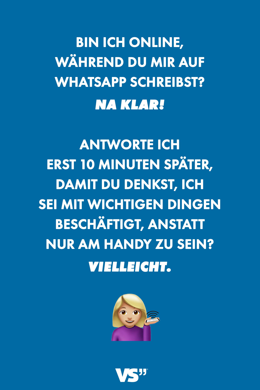 Schreibst Du Mir In Whatsapp?