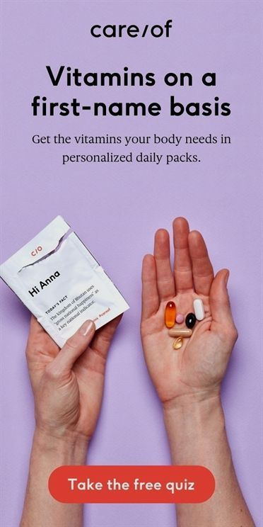 Body CareofGet daily personalized vitamins dieting