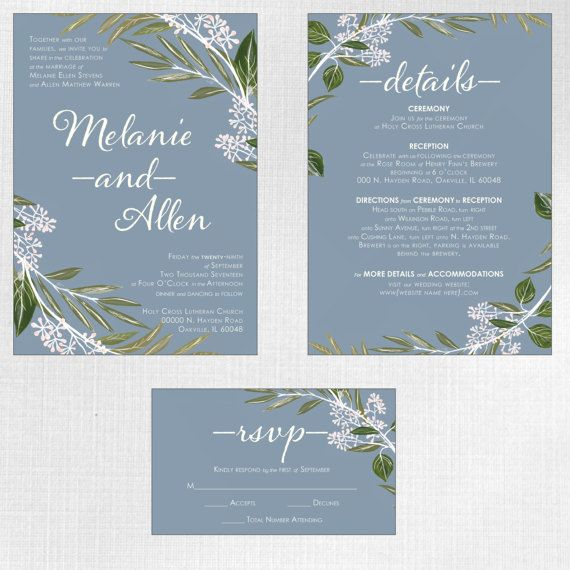 Wow your guests with beautiful custom wedding invitations featuring