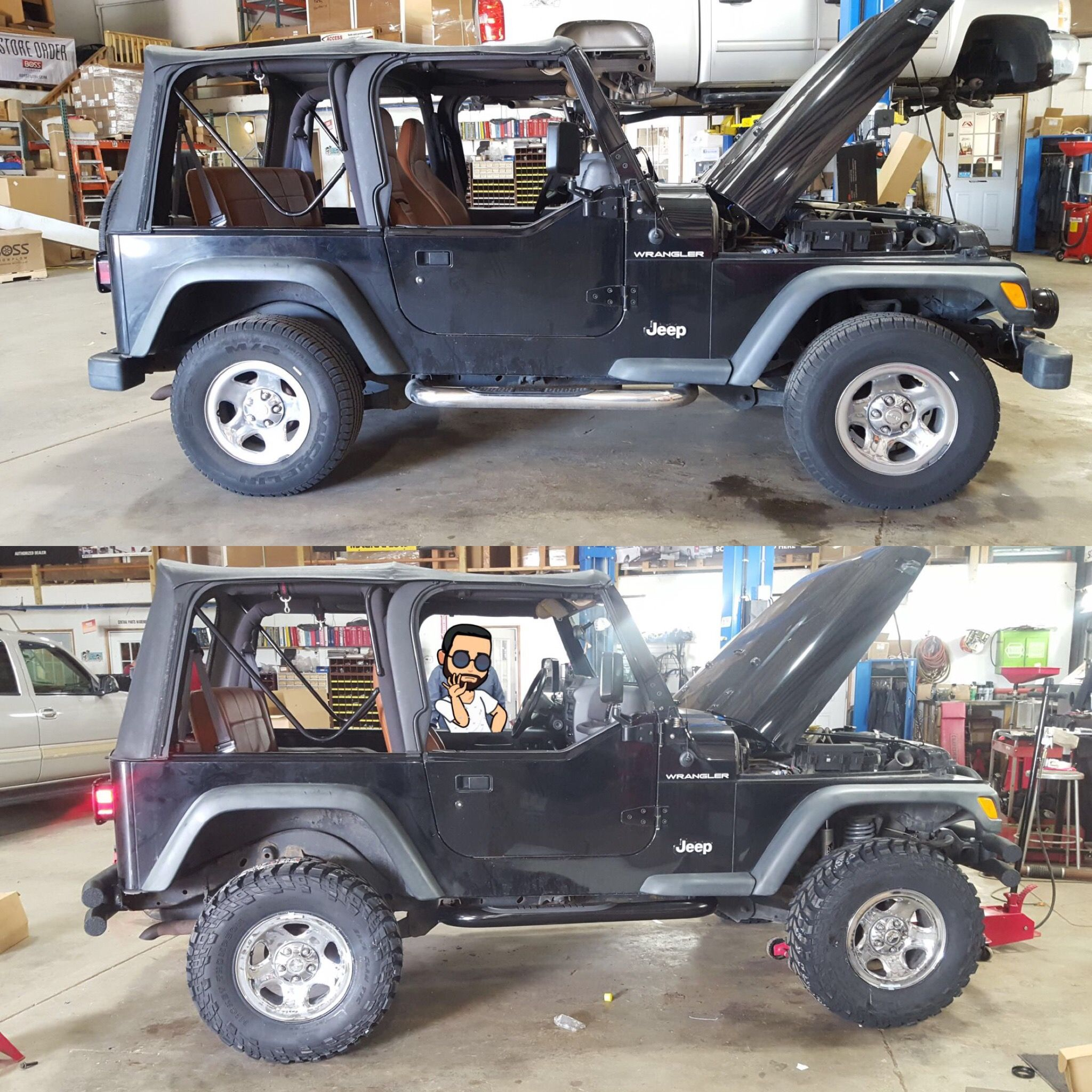 This Jeep Wrangler Got A New Lift Kit And Tires Sold And Installed