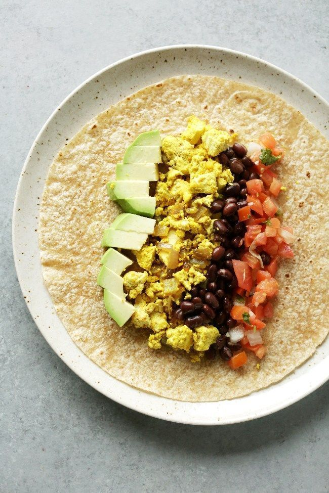 Protein Packed Vegan Breakfast Burrito Nutritional Foodie Recipe Healthy Breakfast Meal Prep Healthy Breakfast Burrito Healthy Breakfast Recipes