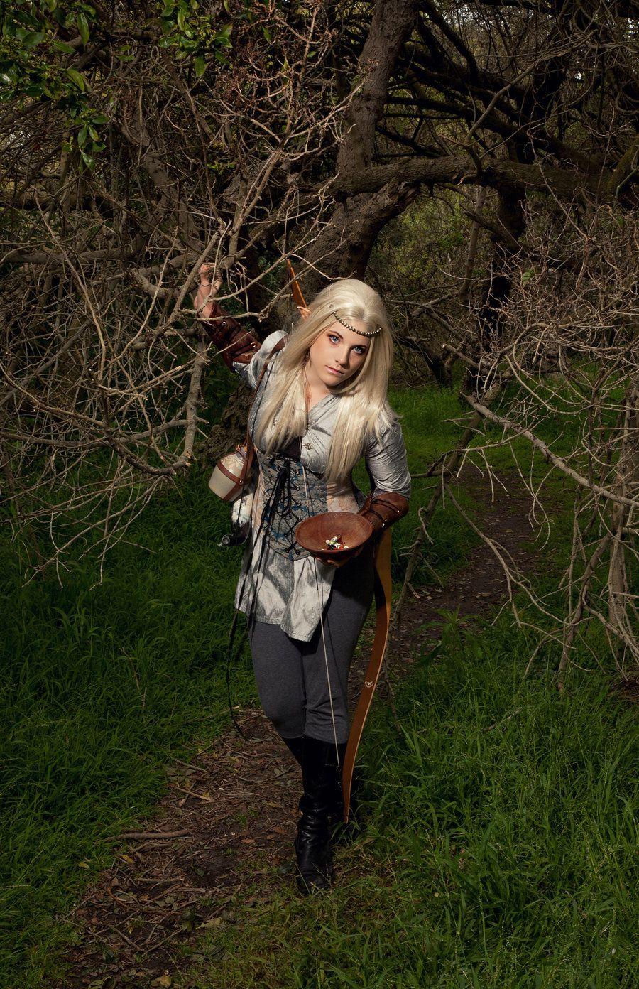 LARP costume - wood elf   Character Ideas   Elf cosplay ...