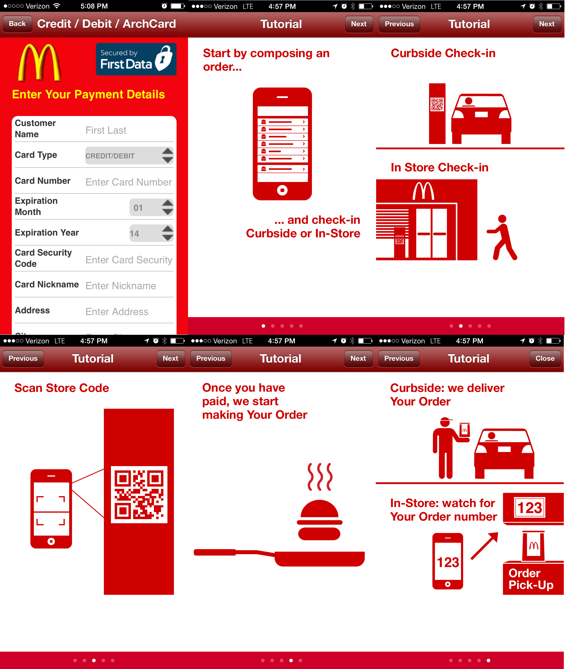 mcdonald's app game interacts with commercial break time