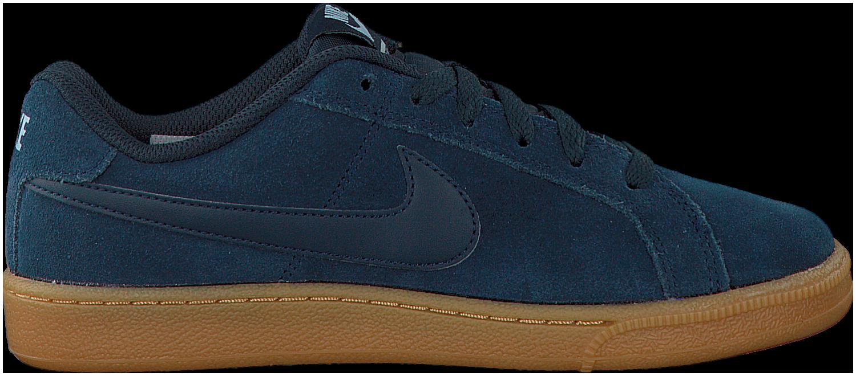 Nike Nike Cour Baskets Bleu Somptueux Un Daim EONW6M34N