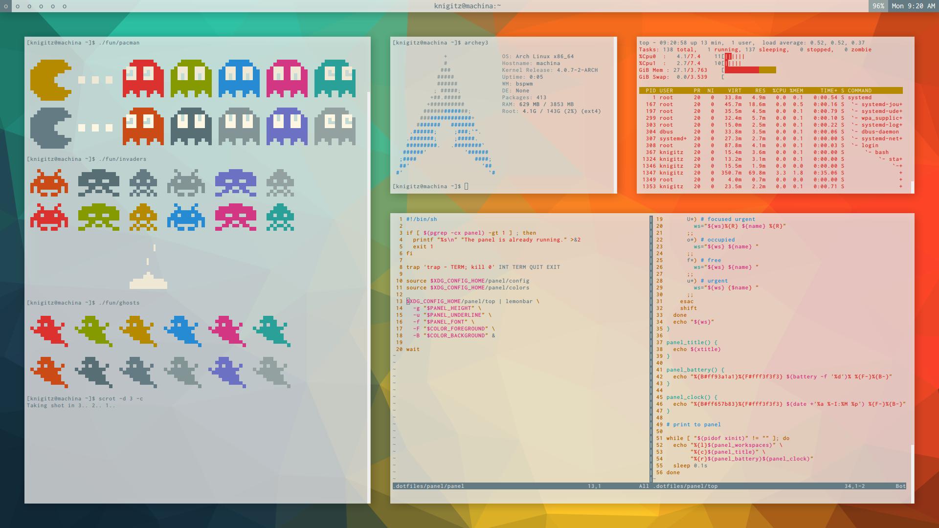 bspwm]   UnixPorn   Desktop, Notebook