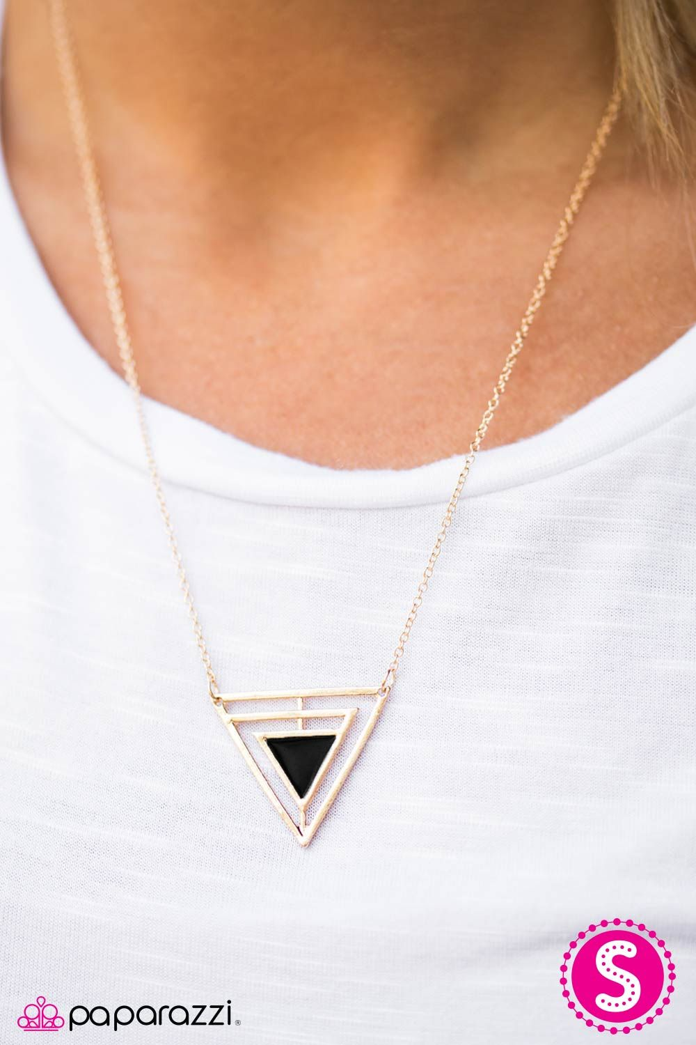 triangle necklace diamonds pendant diamond ak brown triangular with y portfolio goldsmiths