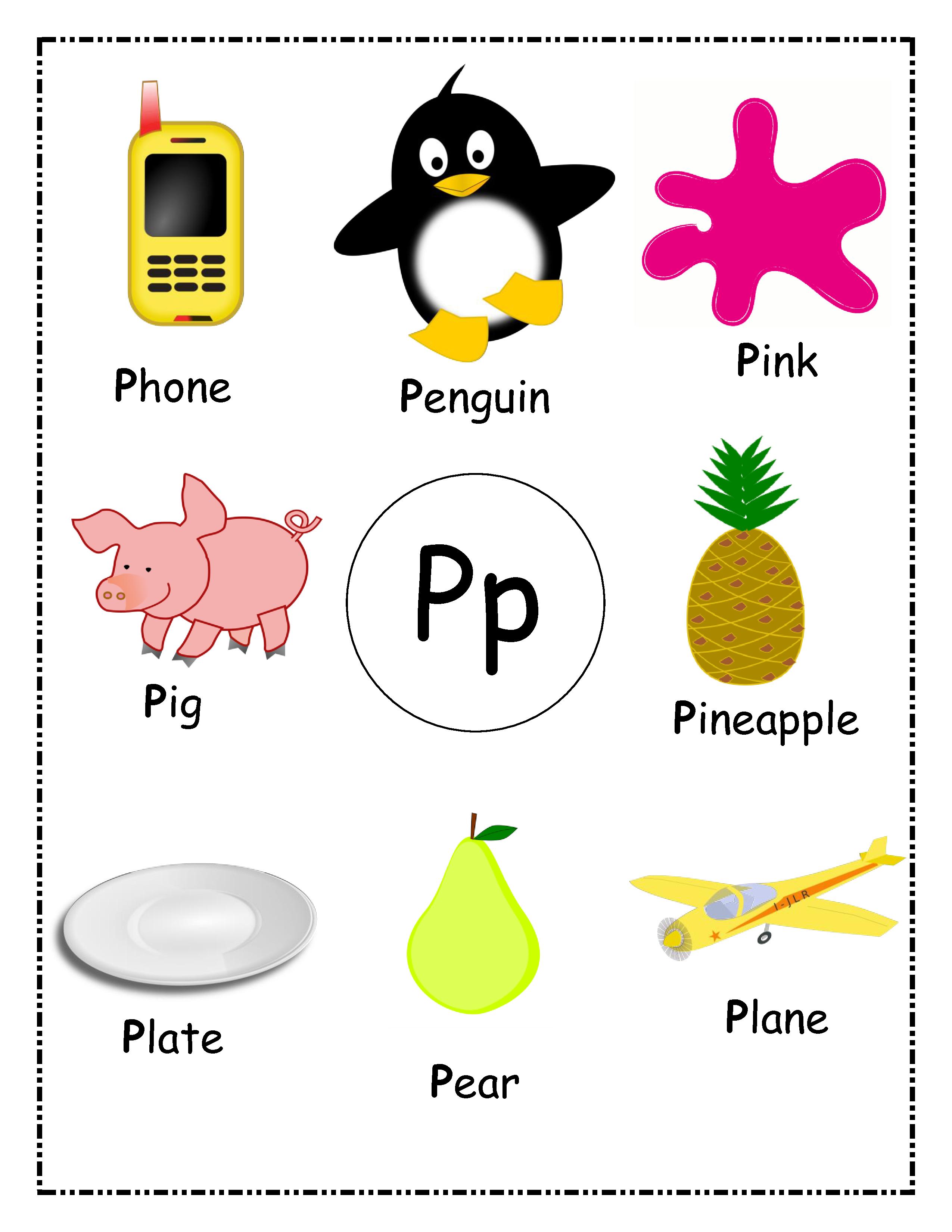 Toddler S First Alphabet Picture Book Alphabet Wall