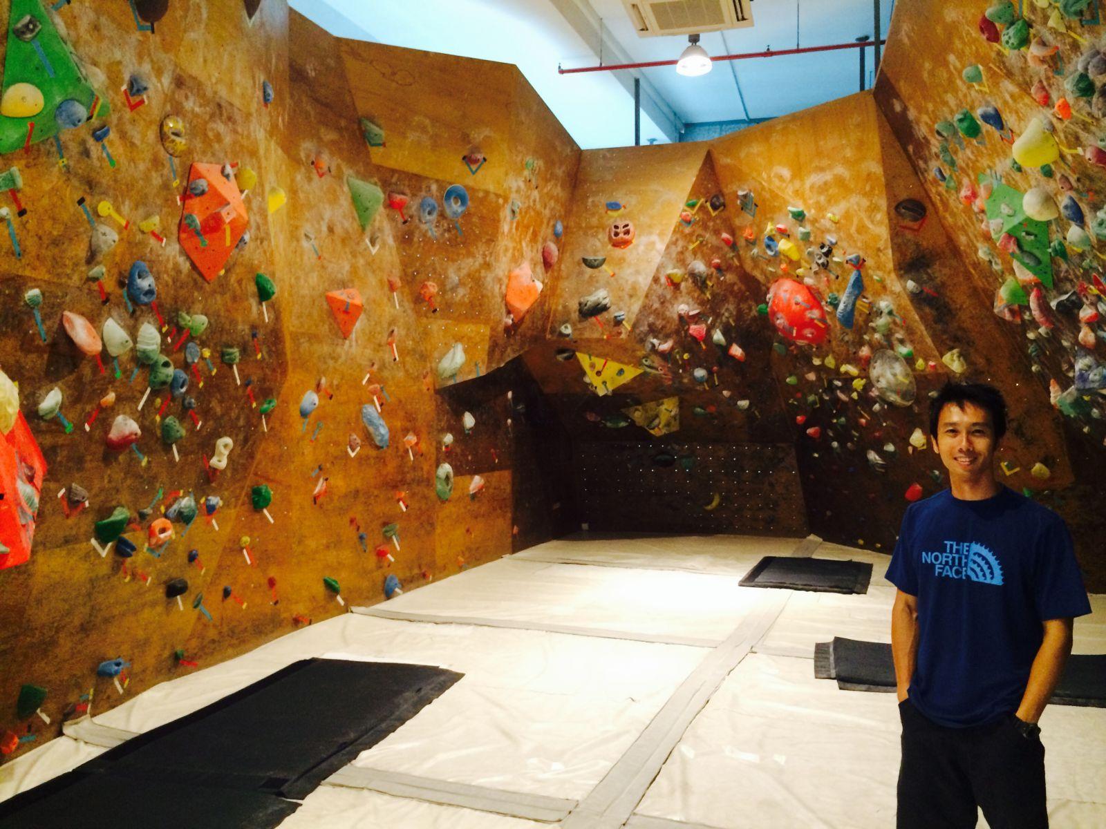 Singapore, Kinetics Climbing Gym