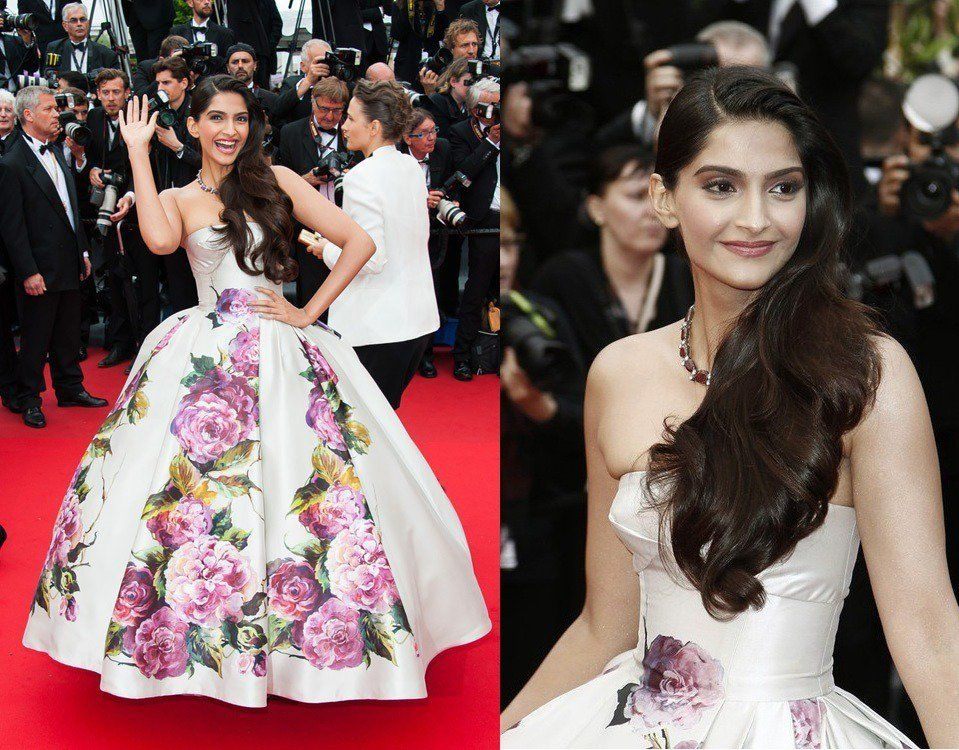 #SonamKapoor she always look beautiful in any outfit she wear... http://bit.ly/1RYjvWR