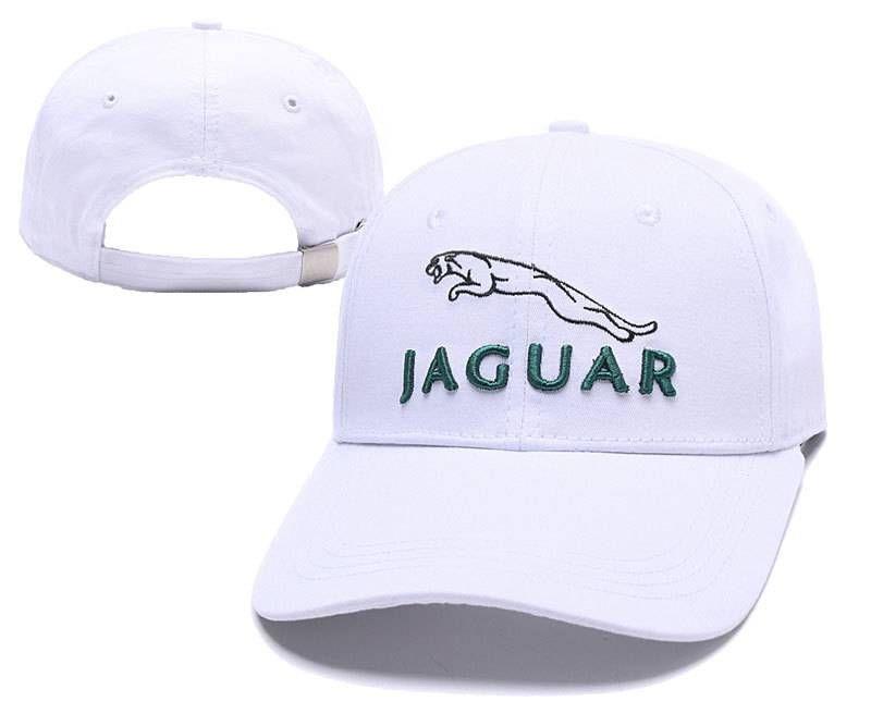 Brand Car Headwear Baseball Caps Jaguar Hats White 046 Sport Hat Embroidered Baseball Caps Baseball Cap