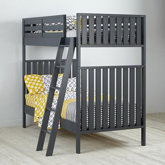 Cargo Bunk Bed Charcoal something like this in grey navy or