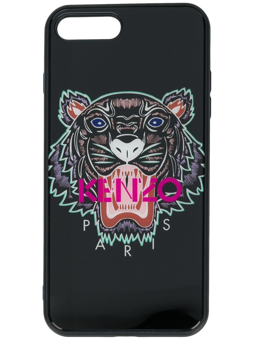 cheap for discount b6ce2 ac58e KENZO KENZO LOGO IPHONE 8 PLUS CASE - BLACK. #kenzo | Kenzo | Kenzo ...